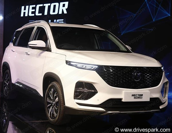 Six-Seater MG Hector Plus To Be Offered In Three Variants