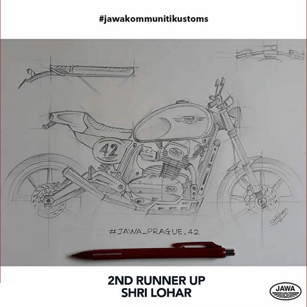 Jawa Kommuniti Kustoms Contest Winners Announced