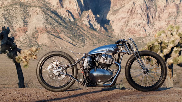 Royal Enfield Continental GT 650 Modified By Las Vegas Based Sosa Metalworks