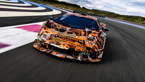 Lamborghini Squadra Corse SCV12 Ready For The Track: World Premiere Later This Year