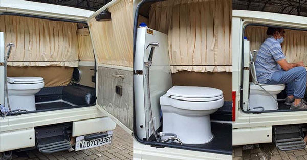 Mahindra Bolero Modified By Ojes Automobiles Features Portable Toilet