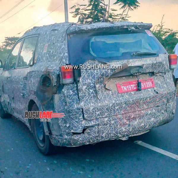 Spy Pics: New-Generation Mahindra XUV500 Spotted In Video Testing Post The Ease Of Lockdown Regulations In India