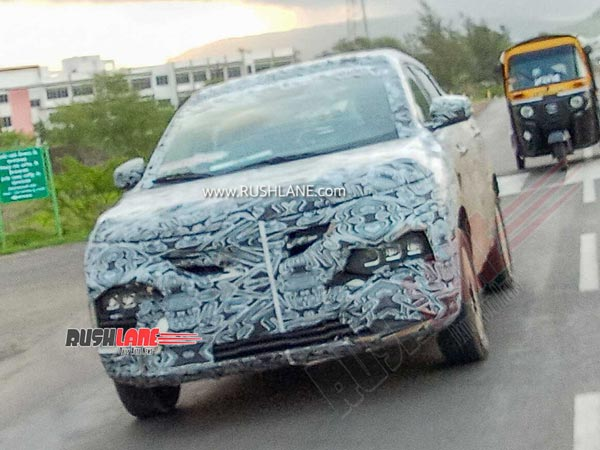 Spy Pics: Renault Kiger Compact-SUV Spotted Testing Again Ahead Of Launch