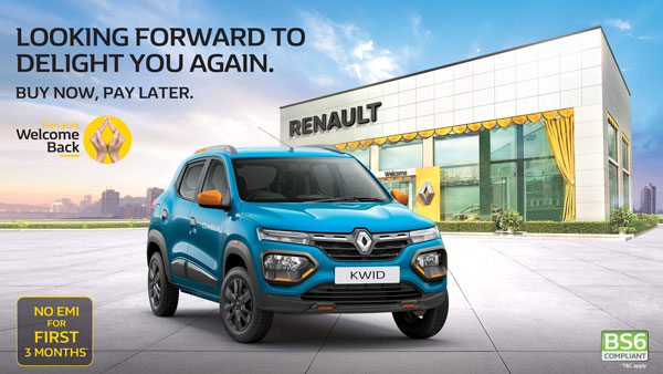 Renault Car Discounts & Benefits Up To Rs 60,000 In June 2020: Offers On Kwid, Triber & Duster Models