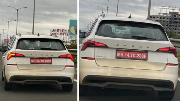 Spy Pics: Skoda Kamiq Spied Testing Ahead Of its Expected Launch In India Soon: Will Rival The Likes Of The Hyundai Creta, Kia Seltos & The Volkswagen T-Roc