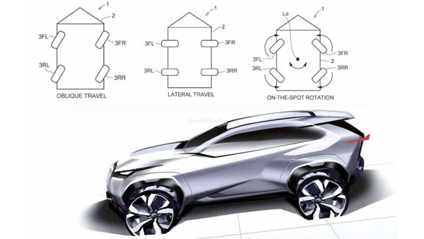 Toyota Files Patents For All-Wheel Turning To Assist With Parking In Tight Spaces