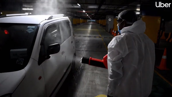 Uber Partners With Airports To Sanitise Cabs Before Every Trip Due To Covid-19 Pandemic