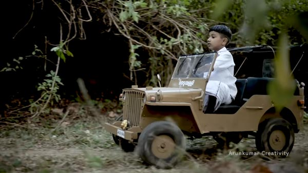 Jeep Willys Miniature Working Model Built In Kerala For A 10-Year Old Boy: Check Out The Video To See How It Works