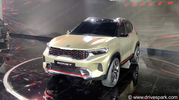 Kia Sonet Features Expected: Compact-SUV Could Receive Segment-Largest 10.25-Inch Infotainment System Along With A Host of Others