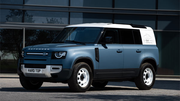 Land Rover Defender HardTop Commercial Model Confirmed: Launch Scheduled For Later This Year
