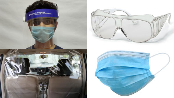 Maruti Suzuki Introduces Safety Accessories In India Amidst 'New Normal' Post COVID-19