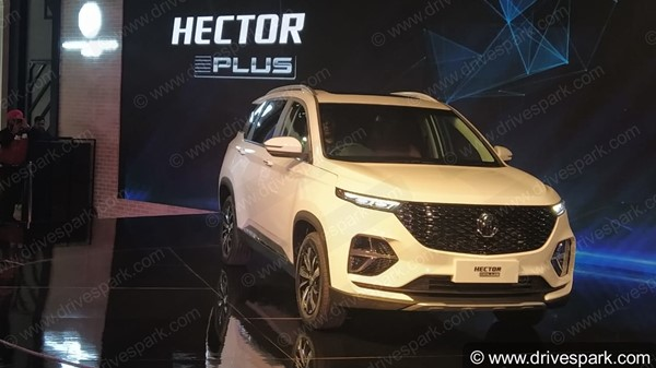 MG Hector Plus Listed On Website Ahead Of India Launch Next Month