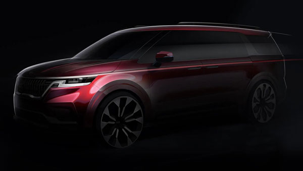 Next-gen Kia Carnival teased ahead of world premiere
