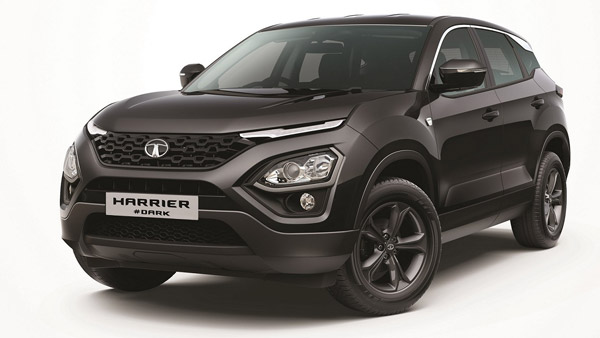 Tata Harrier Dark BS6 Special Edition SUV Started To Arrive At Dealerships