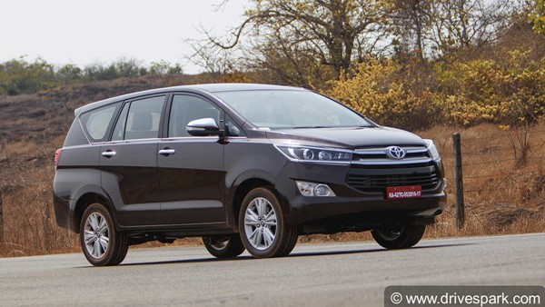 Toyota Innova Crysta BS6 Prices Increased By Up To Rs 61,000: Prices Now Start At Rs 15.66 Lakh