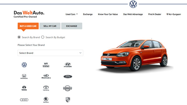 Volkswagen India Introduces Das WeltAuto 3.0 — Buying And Selling Pre-Owned Cars