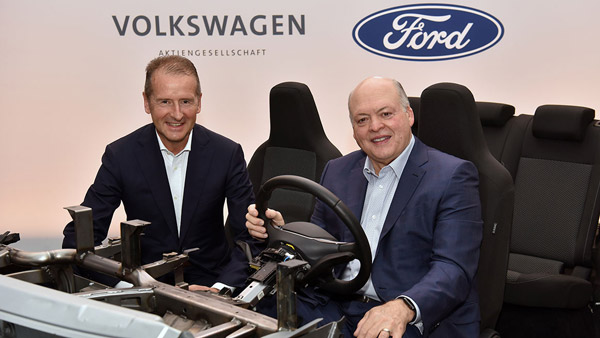Volkswagen, Ford Finalise Joint Venture: To Develop Electric Vehicle And Commercial Vans