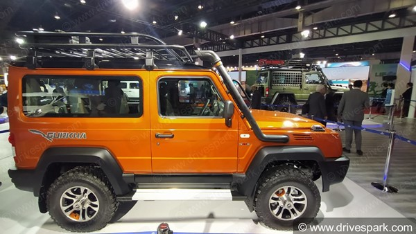 Force Motors Is Likely To Launch The All-New Gurkha During The Festive Season This Year