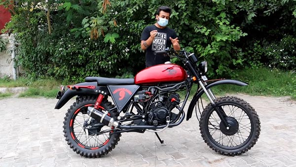 Hero Passion XPro Modified Into A Dirt Bike: Read More To Find Out