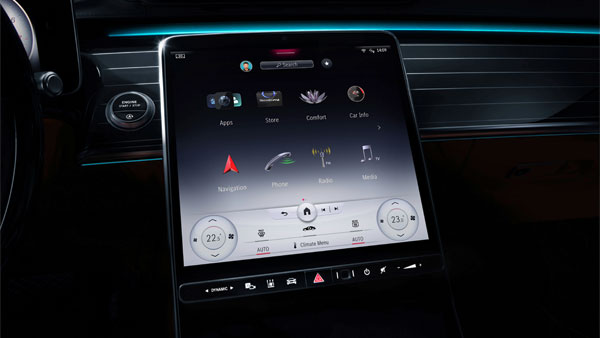 Mercedes-Benz S-Class 2021 Models To Feature 12.8-Inch Touchscreen Infotainment System: Details