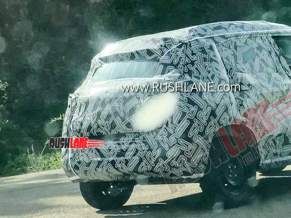 Nissan Magnite Spotted Testing For The First Time In India