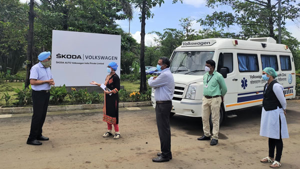 Volkswagen & Skoda Auto Provides Mobile Clinic Van Providing Medical Services To Villages