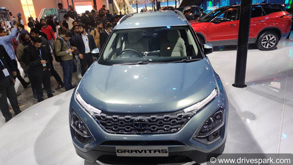 Tata Gravitas SUV Spied Testing In India Ahead Of Launch Yet Again: Spy Pics & Details