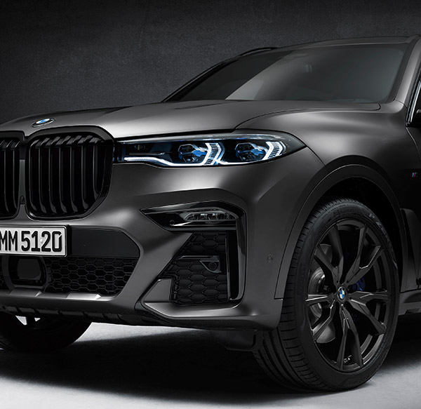 BMW X7 Dark Shadow Limited Edition Unveiled: Only 500 Units Made