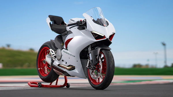 Ducati Panigale V2 White Rosso Revealed: Details, Specs, And Expected Price