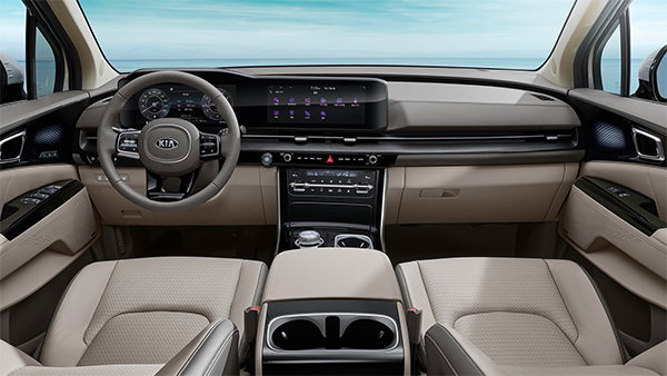 2021 Kia Carnival Interiors Revealed Officially: Showcases Its Impressively Premium Cabin & Cockpit
