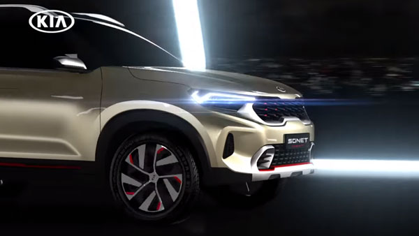 Kia Sonet World Premiere To Be In India On 7th August: Expected Launch Date, Price, Specs & Other Details Revealed