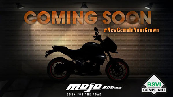 Mahindra Mojo BS6 Model To Feature New Garnet Black & Red Paint Scheme