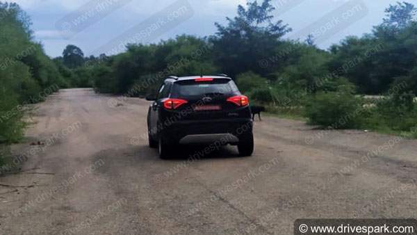Spy Pics: Mahindra XUV300 T-GDi Turbo-Petrol Model Spotted Testing Ahead Of Launch