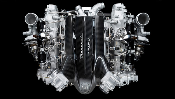 Maserati Unveils New V6 Turbo Engine Using F1 Technology For Road Cars: To Debut On MC20