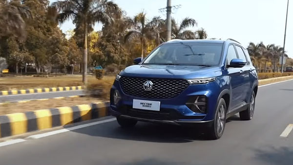 MG Hector Plus To Come With A Panoramic Sunroof: To Be India's Only Six-Seater SUV With This Feature