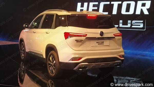 MG Hector Plus To Become India's First Six-Seater SUV To Feature A Panoramic Sunroof: Bookings Already Open Ahead Of 13th July Launch