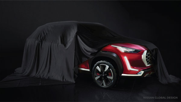 New Nissan Magnite Compact-SUV First Glimpse Officially Revealed: India Launch Timeline Confirmed