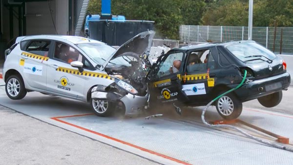 Crash Test Video Shows How Safety Has Improved Between Old And New Cars Over The Years