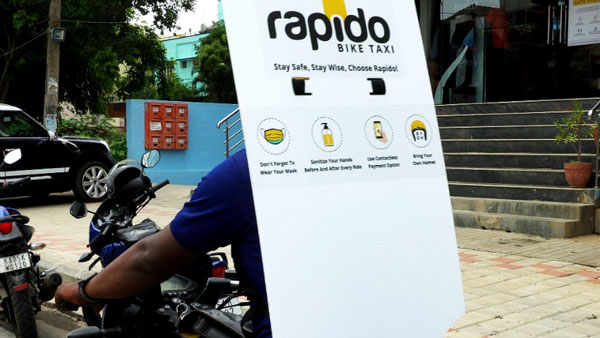 Rapido Launches Back Shields For Bike Taxi Road Captains In Order To Enhance Covid-19 Safety