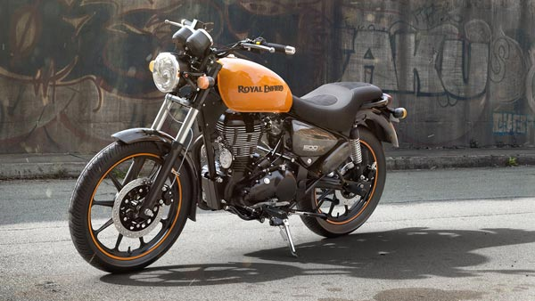 Spy Pics: Royal Enfield Meteor Production Ready Model Spotted With Accessories