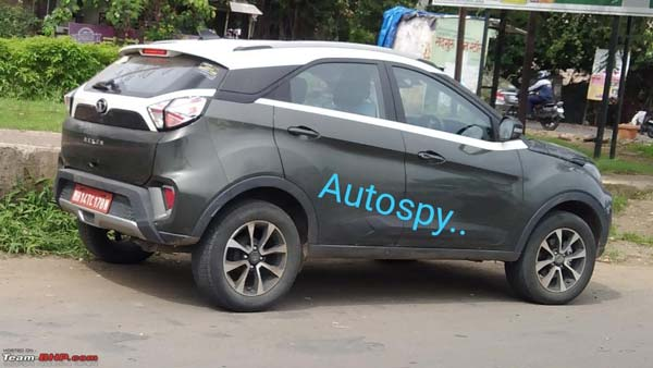 Spy Pics: Tata Nexon DCT Spotted Testing Again Ahead of India Launch
