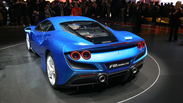Ferrari F8 Tributo Launched In India At Rs 4.02 Crore: Specs, Features & All Other Details