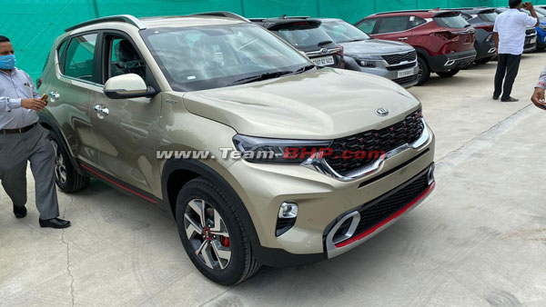Kia Sonet Arrives At Dealerships Ahead Of India Launch: Specs, Features & Other Details