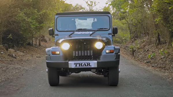 Spy Pics: New Mahindra Thar Interiors Spotted Ahead Of Unveil On August 15