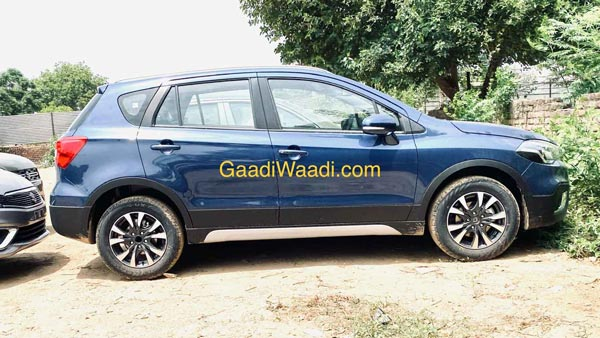 Maruti Suzuki S-Cross Spotted At Dealer Yard Ahead Of Launch This Month: Details