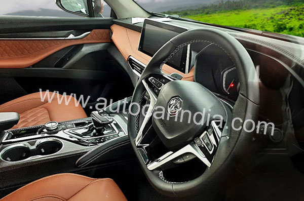MG Gloster Interiors Spied: Read More To Find What The SUV Has To Offer