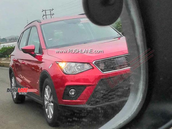 Seat Arona Spotted Testing In India: Spy Pics & Details