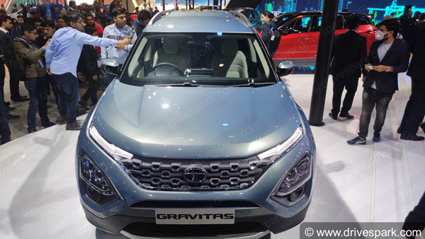 Spy Pics: Tata Gravitas Spotted Testing Again Ahead Of India Launch