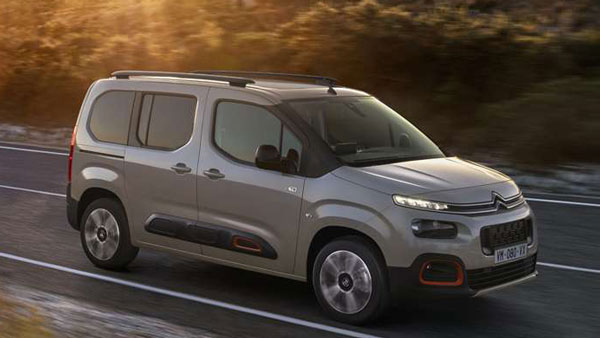 Spy Pics: Citroen Berlingo XL MPV Spotted Testing In India Without Camouflage