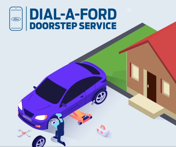 Ford Launches Dial-A-Ford Doorstep Service In India At No Cost To Customers